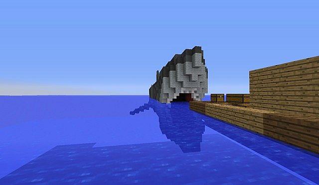 Giant Monster Shark (Over 100 Blocks Long) + Download Minecraft Project