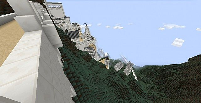 Minas Tirith World with Odyssey Craft