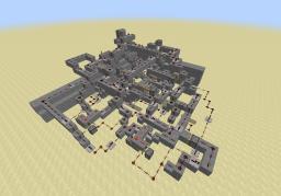 Really complex redstone code door Minecraft Map & Project