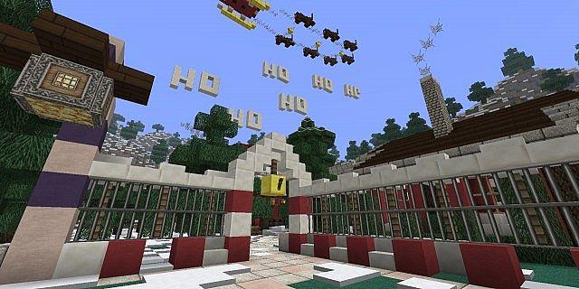 ... ! - Santa's House - [ATLANTIS PREVIEW] - Ninaman Minecraft Project