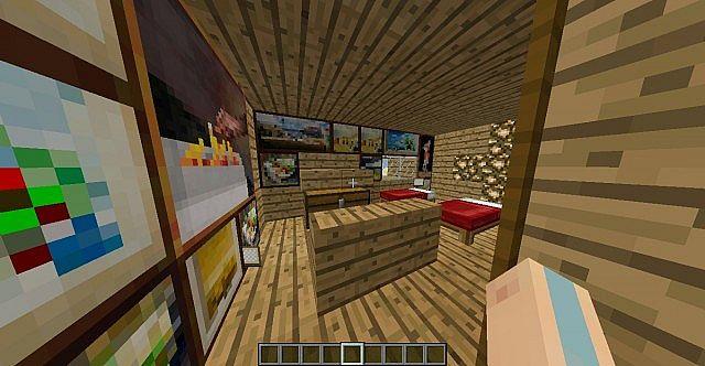 Anne Frank Annex Minecraft Project