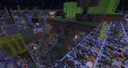 My Skygrid Minecraft Map & Project