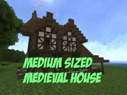 Medium Sized Medieval House Minecraft Map & Project