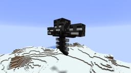 21st December - Wither Statue Minecraft Map & Project