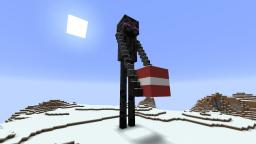 23rd December - Enderman Statue Minecraft Map & Project