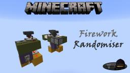 Minecraft: Firework Randomiser Minecraft Map & Project