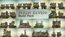 High Elven Build Pack Minecraft Map & Project