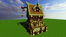 Yet another medieval house Minecraft