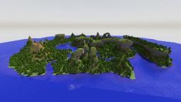 Custom Terrain | En'tas Island | A Tribute to Charlizard | v1.1 Minecraft