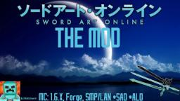 © {1.6.4} {Forge,MP/SP/LAN} UCK's Sword Art Online Mod v.a23_06 {Adds all items for sao and alo!} {Beta Commands!}