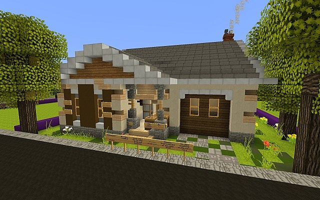 Small Craftsman Bungalow TCS Build 1 Minecraft Project