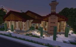[TBS APP] Arizona Ranch House Minecraft Map & Project