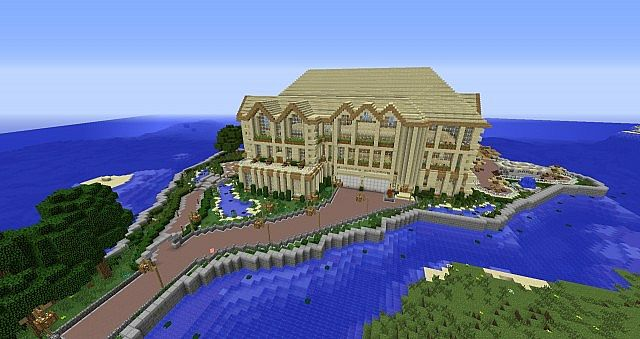 Summer vacation mansion minecraft project for Vacation mansions