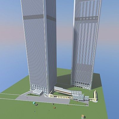 World Trade Center 1 1 Scale Minecraft Project
