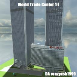 world trade center 1:1 scale Minecraft Map & Project