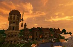 Prethias - Detailed medieval village Minecraft Map & Project