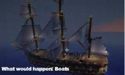 What would happen: Boats Minecraft Blog