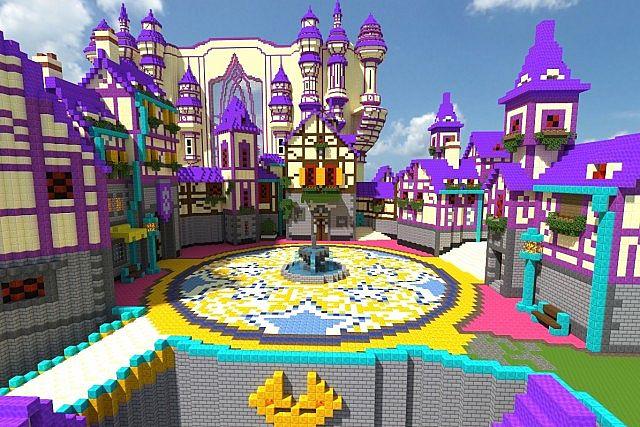DayBreak Town (Kingdom Hearts X [Chi]) Minecraft Map
