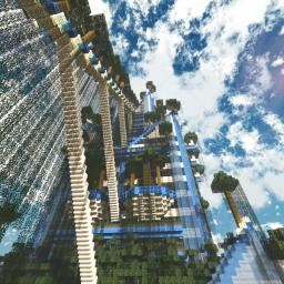 The Hanging Gardens Minecraft Map & Project