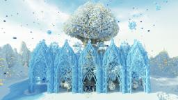 Mystical Ice Garden Minecraft Project