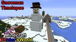 Snowman Tutorial Timelapse Minecraft Map & Project