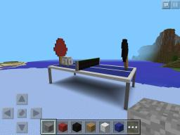 Giant Ping Pong Table Minecraft Map & Project