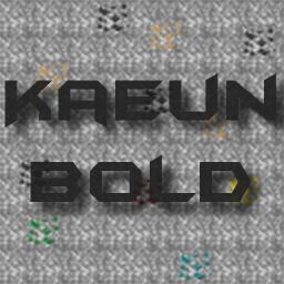 [1.7.4] Kaeun Bold v1.3 Minecraft Texture Pack