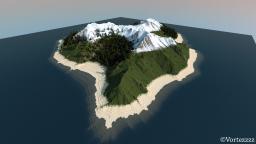 Dry Wind Island | Custom Terrain Minecraft Project