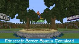 Minecraft - Large Server Hub / Lobby Download (Spawn) Minecraft Map & Project