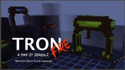 TRON Fire: Tron based minigame in minecraft Minecraft