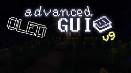 OLED Advanced GUI v9 | 1.16.4 Minecraft Texture Pack