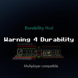 Durability Hud Minecraft Data Pack