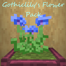 Gothiclily's flower pack Minecraft Texture Pack