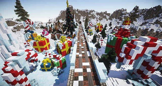 Minecraft Christmas Craft Server