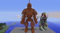 DWEMER CENTURION! From Skyrim Minecraft Map & Project