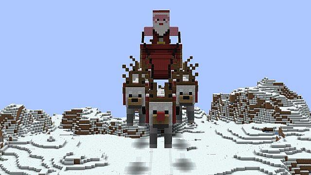 24th December - Santas Sleigh Minecraft Project