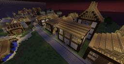 Dorsey Town Minecraft Map & Project