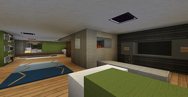 Lane Modern Townhouse Minecraft Project