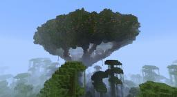 Village In a Tree (For CozyLone's Village Contest) Minecraft