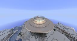 UFO II (Snow UFO) Minecraft Map & Project