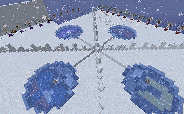 id карт снежная карта в майнкрафт #2