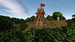 Fortrified medieval house Minecraft Map & Project