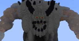 Giant Minecraft Map & Project