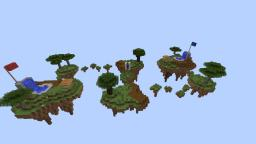 Sky land block pvp two teams area arena Minecraft Map & Project