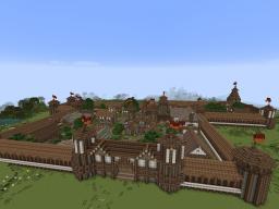 (download)średniowieczne miasteczko /medieval town Minecraft Map & Project