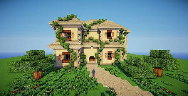 Deuxième - A Large traditional house. Minecraft Project - photo#30