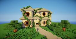 Deuxième - A Large traditional house. Minecraft