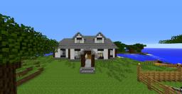Amazing Cape Cod House Minecraft Map & Project