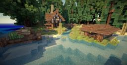 Custom Island w/ Small Village | Cinematic & Download! Minecraft Map & Project