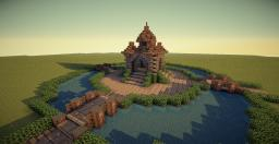 Small Spawn/ Hub | Medieval, Fantasy, General Use Minecraft Map & Project